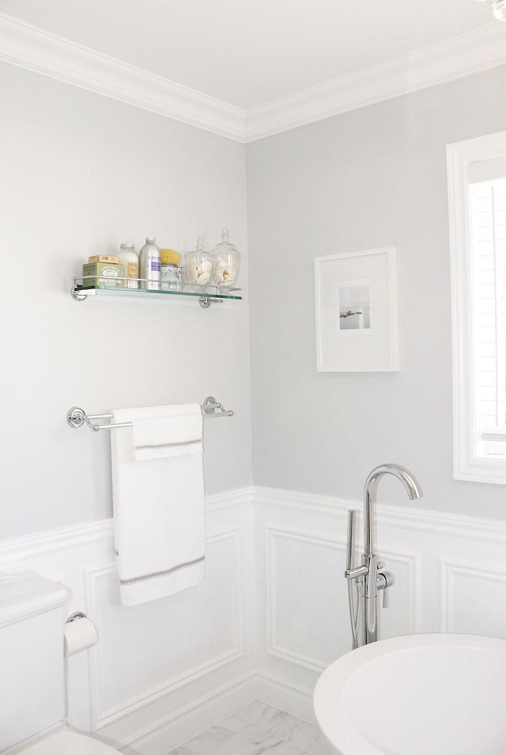 carra basket weave tile & wainscoting bathroom | ... process at ...