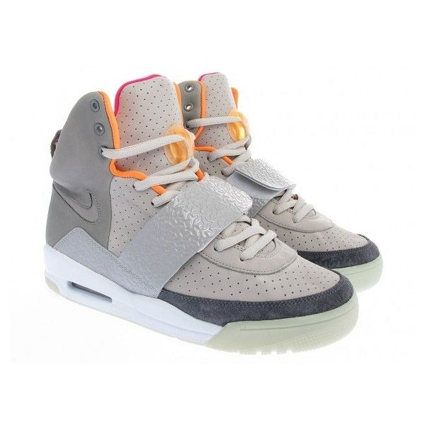 3e86a17119e35 Nike Air Yeezy Light Charcoal Grey