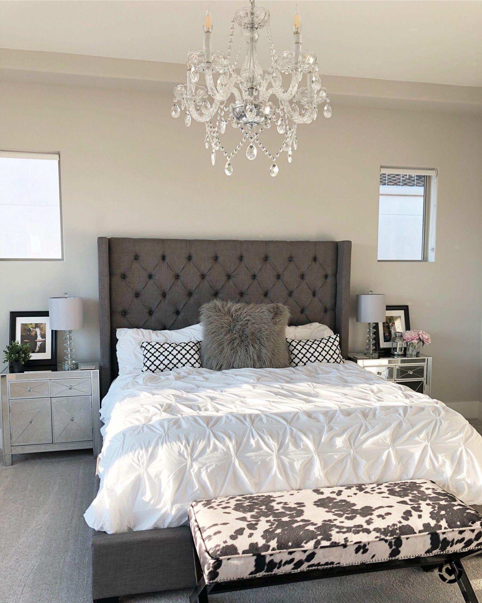 Modern Farmhouse Glam Girl's (& guy's) Master Bedroom