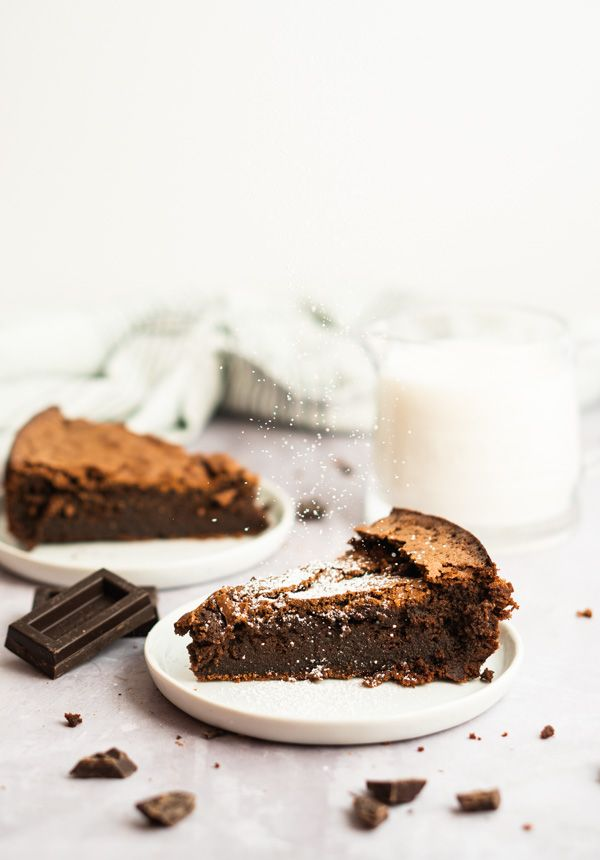 Photo of Pastel de chocolate sin harina de Bailey – Season of Baking