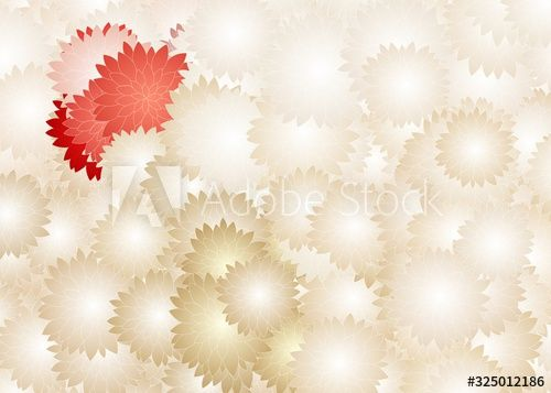 Colorful flower background with different sizes of flowers.Tile art. , #sponsored, #background, #flower, #Colorful, #sizes, #art #Ad