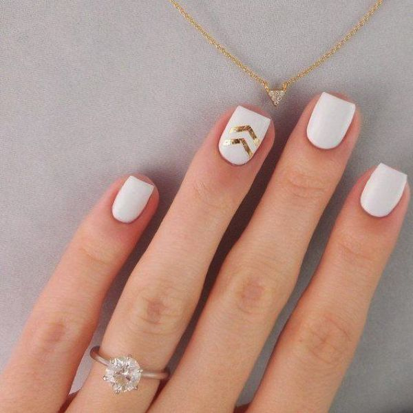 10 Chic White Nail Trend Ideas | White nails, Nail trends and Nude color