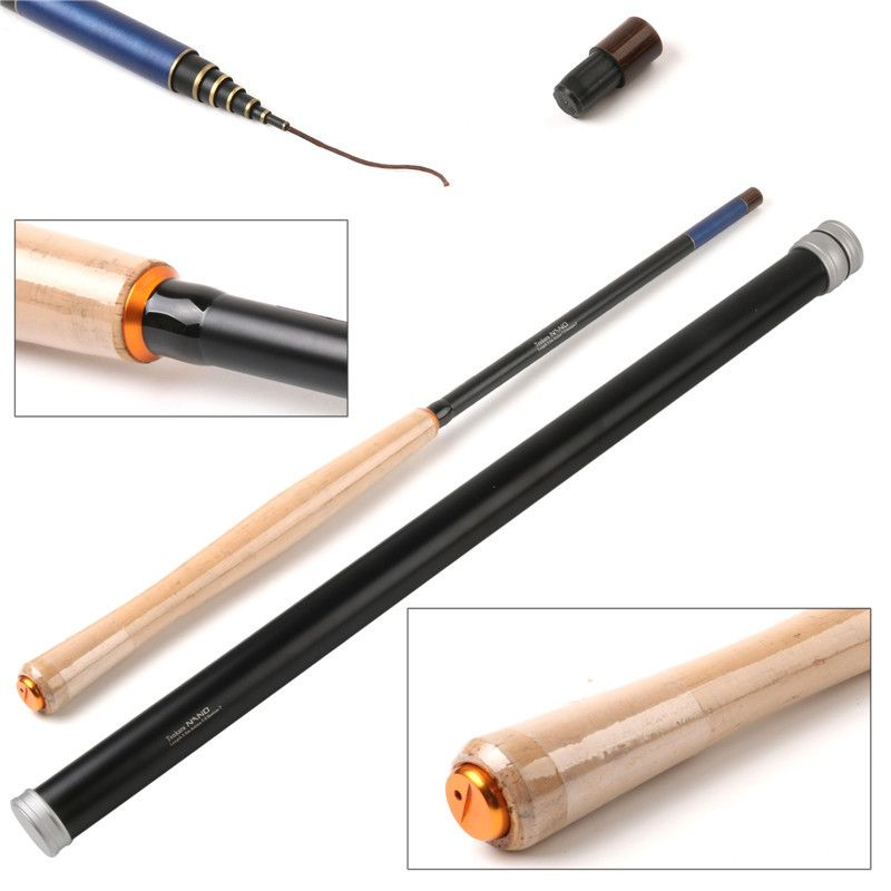 Aliexpress Com Buy Luxry Im12 40 46t Toray Carbon Golden Fishing Rod 9ft 5wt 4pcs Half Well Fast Action With Aluminium Tenkara Tenkara Fly Fly Fishing Rods