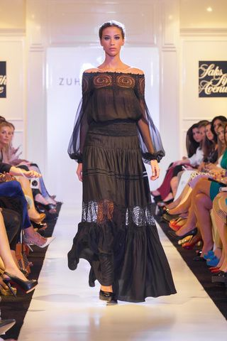 زهير مراد يعرض مجموعة فساتين سهرة جديدة في دبي Couture Fashion Fashion News Fashion