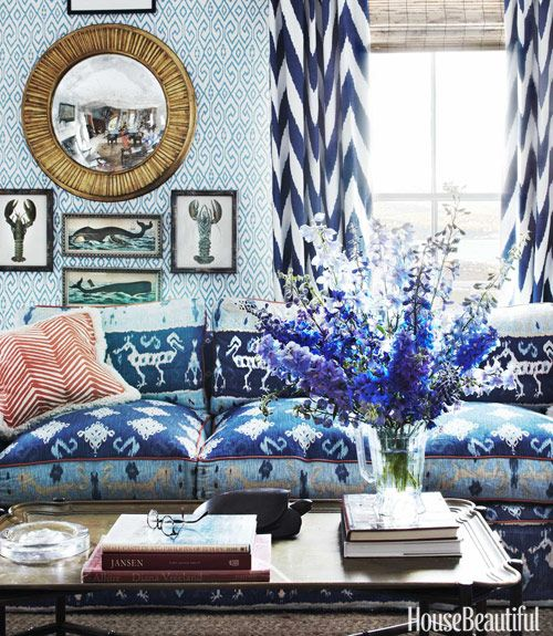 Layers Of Pattern And Colors Decor Beautiful Homes Home Decor