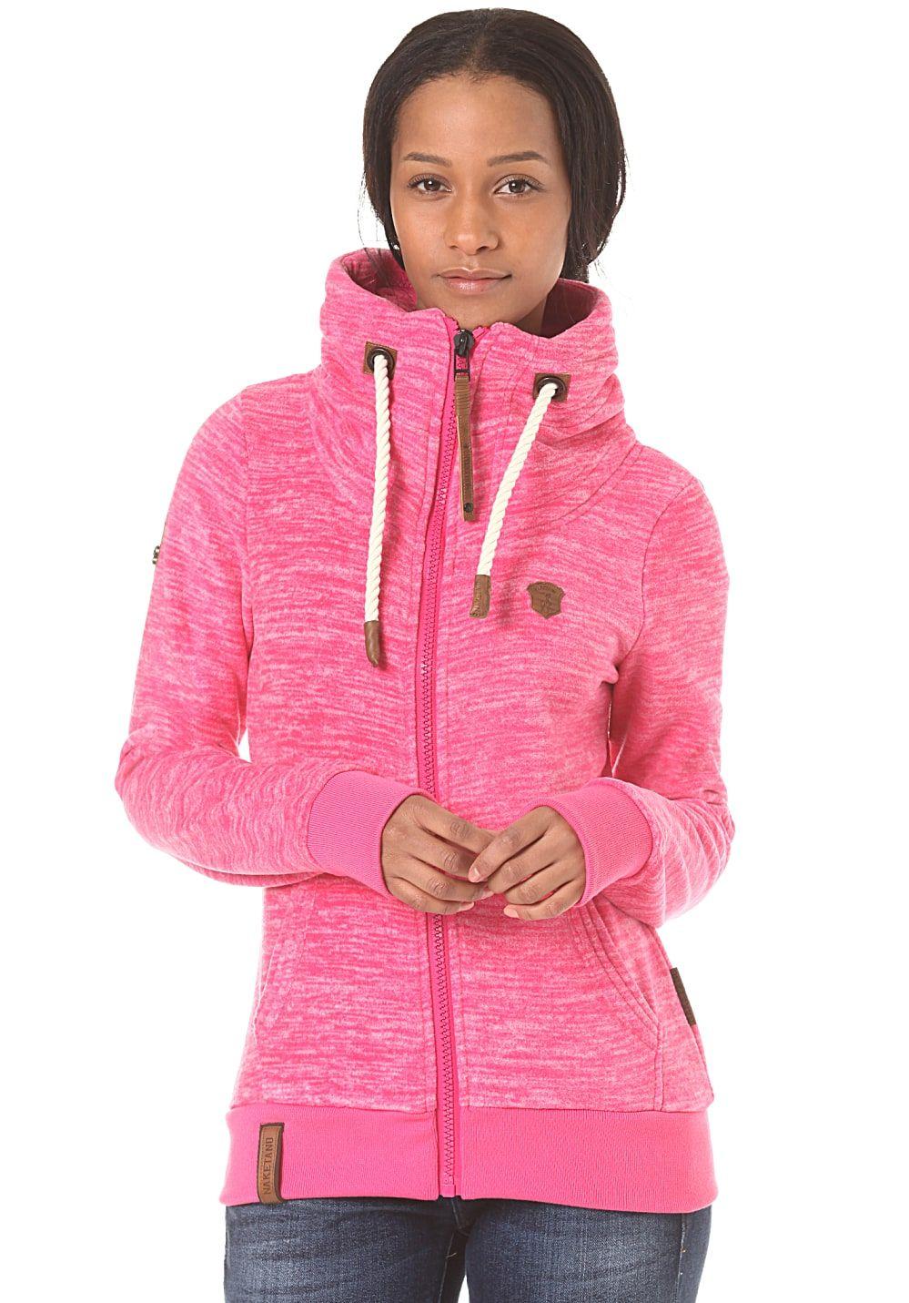 Naketano Redefreiheit III Sweatjacke für Damen Pink