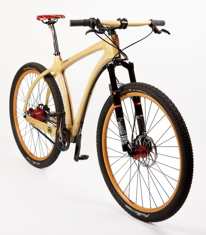 Photos   Connor Wood Bicycles -- Wood bikes from Denver Colorado.