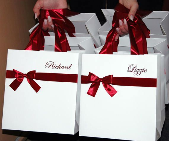 Personalized Gift Bags Bridesmaid S Gifts Bridal Party