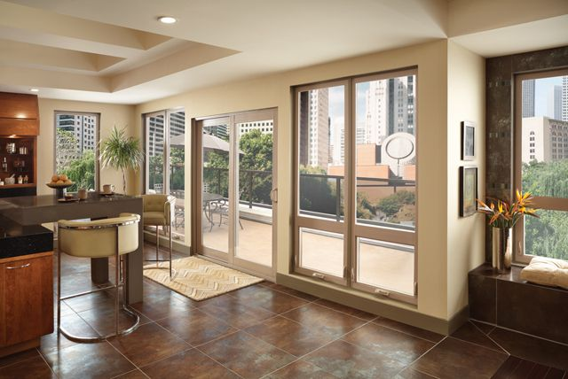 Not Only Do Milgard Tuscany Series Vinyl Windows Come In Your Choice Of Operating Styles But There S A Vinyl Patio Doors Window Vinyl Patio Door Installation