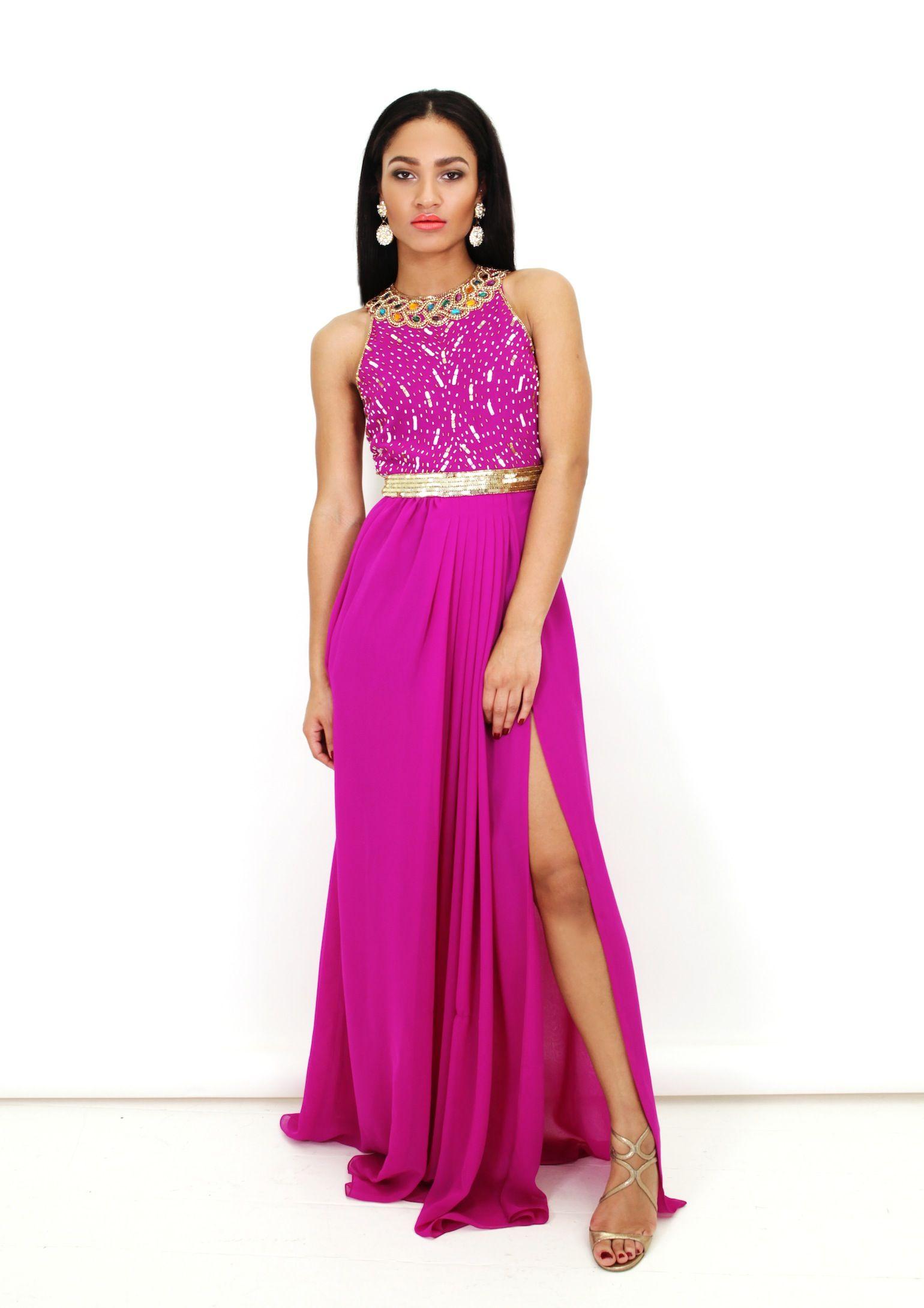 Virgos Lounge | Jayne Maxi Dress - De £154 por £84 | Vestido de ...
