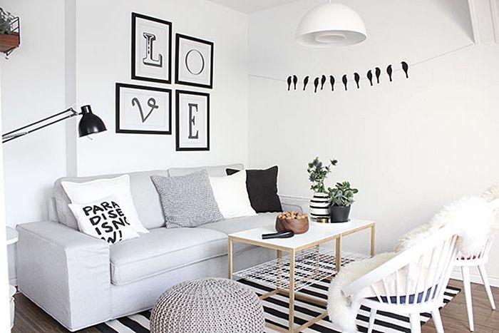 wohnzimmer-schwarz-weiß-grau-2jpg 700×467 píxeles Mary - wohnzimmer schwarz wei