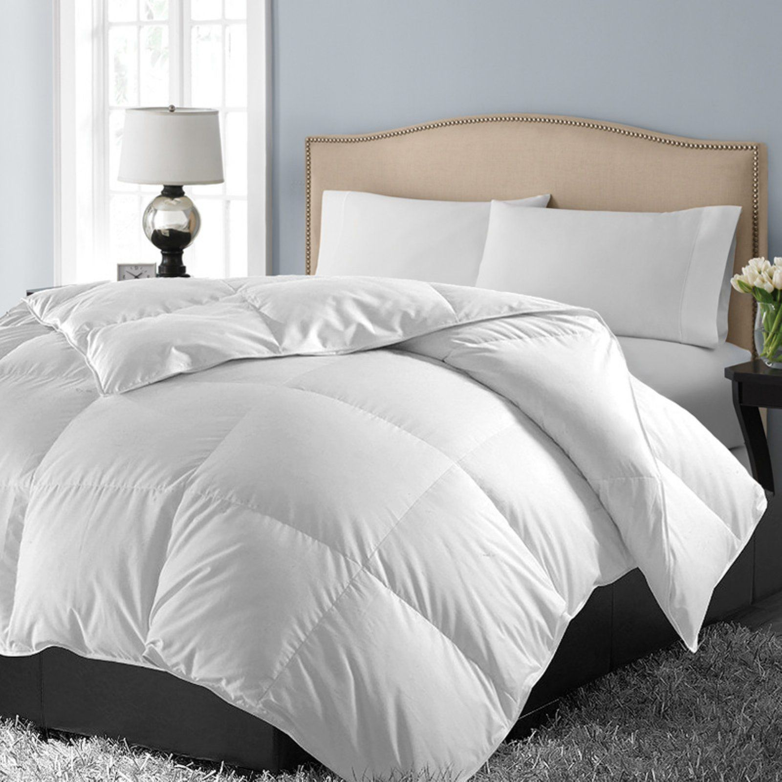 1000 Egyptian Down Alternative Comforter Size King Comforters