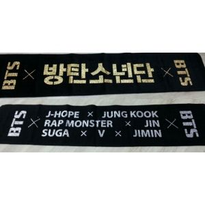 BTS Official Goods] Slogan Towel - 1 PCS (in stock