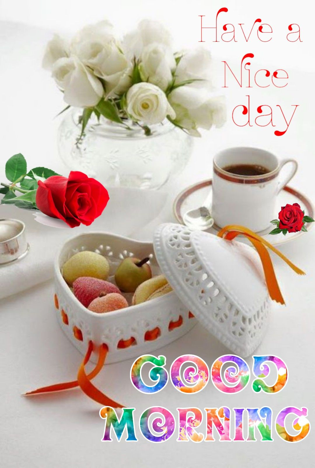 Good Morning Sister Have A Great Day Good Morning