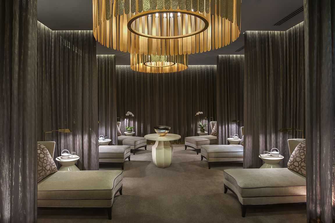 Home Spa Design Ideas: Relaxation Lounge, Crown Resorts Melbourne
