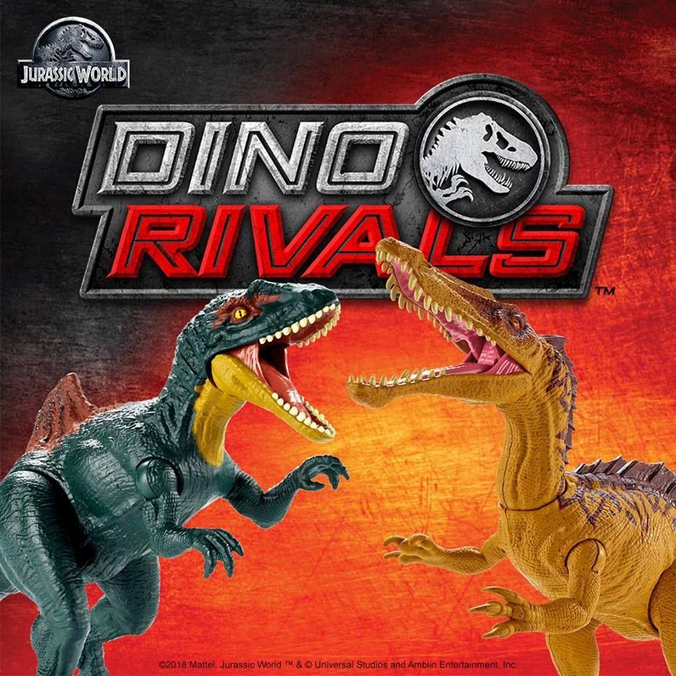 News 2019 Jurassic World Dino Rivals Bientot A La