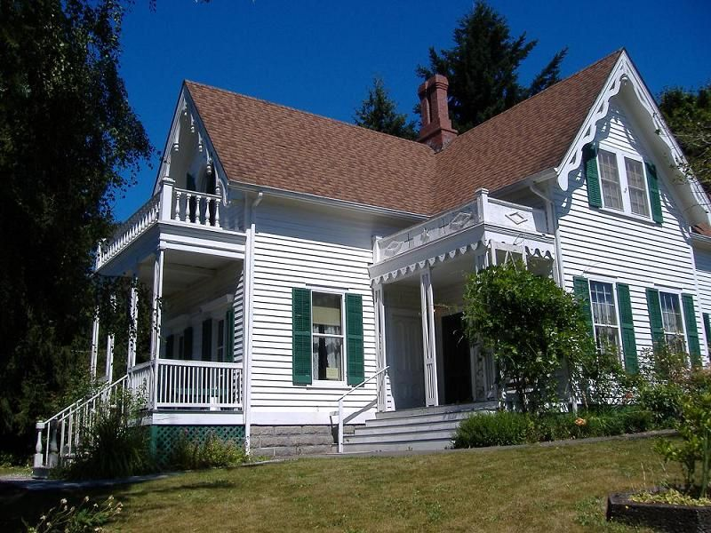 Oldhouses Com Gothic Revival Bigelow House Museum In Olympia Washington