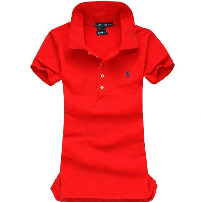 Ralph Lauren Pony Polo For Women In Red Outlet Online  cc774261739