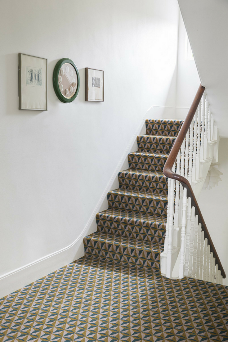 Drawing inspiration from the world of architecture choose the alternative flooring quirky b ben pentreath tetra hooke carpet for a classy modern take on