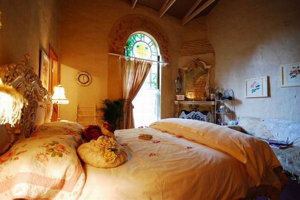 Seven suites, fireplaces and our own street cafe - a little bit of Provence in Africa