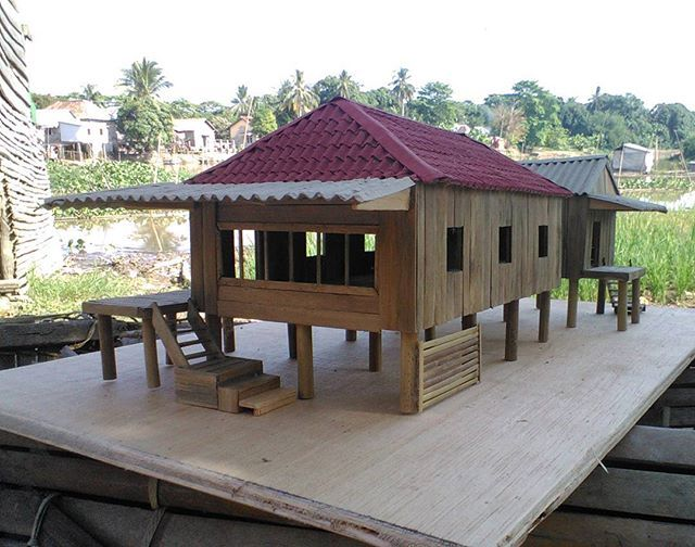 66 Gambar Rumah Panggung Dari Bambu HD