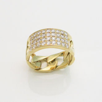 Diamond Jewelry Ring 18Kt Gold Click for Details http