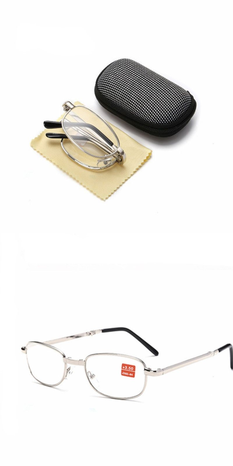 8367d6986f Full metal frame glass lenses female male Reading Glasses Women Men Unisex  Eyewear 1.0 1.5 2