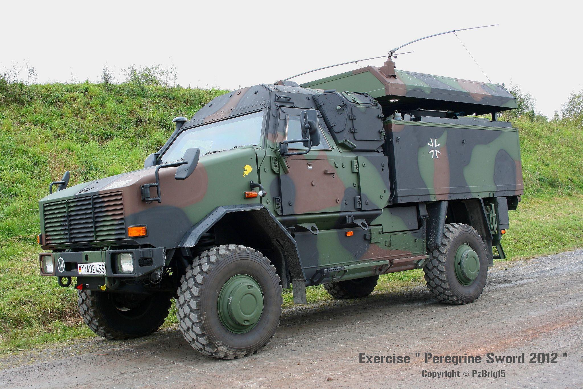 "Exercise ""Peregrine Sword 2012"" Military Vehicles"