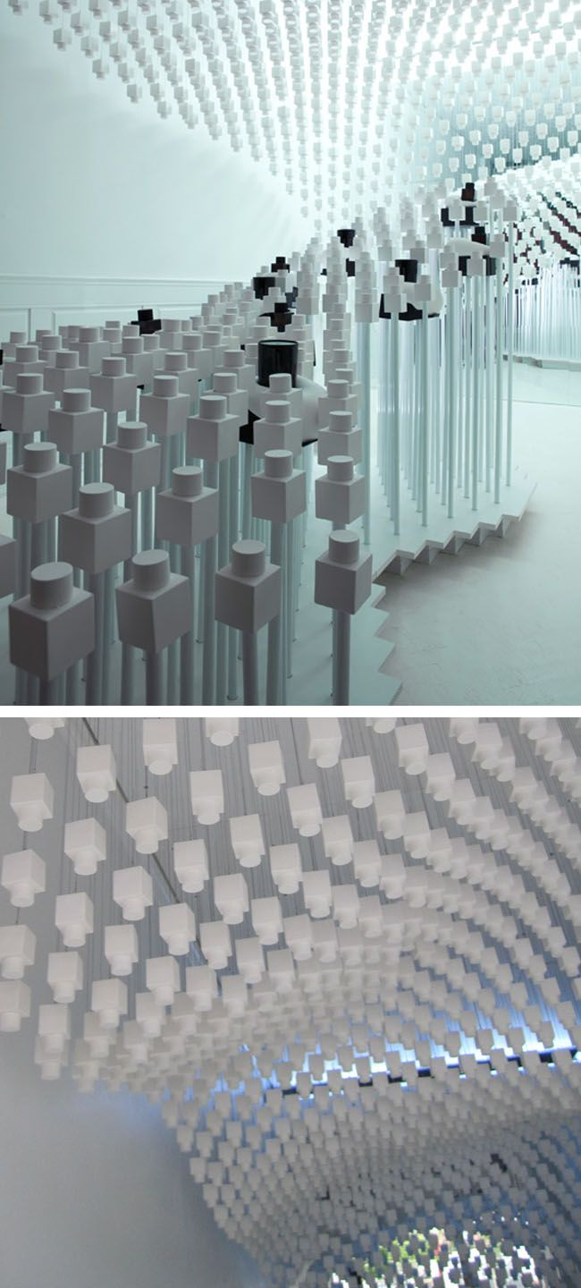 New Pop-Up Shop by Snarkitecture. Love the name.   Architecture ...