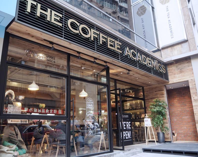 The Coffee Academics Coffee Shop Design Storefront Design Coffee