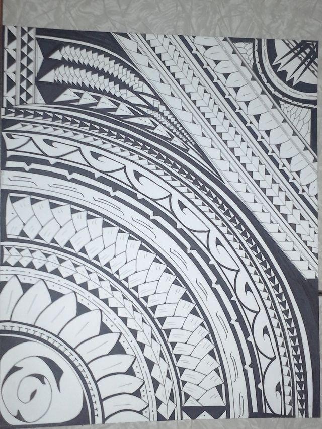 hawaiian tribal drawings tumblr google search tattoos