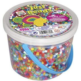 Bucket Of Perler Beads-Just Beads $12.50
