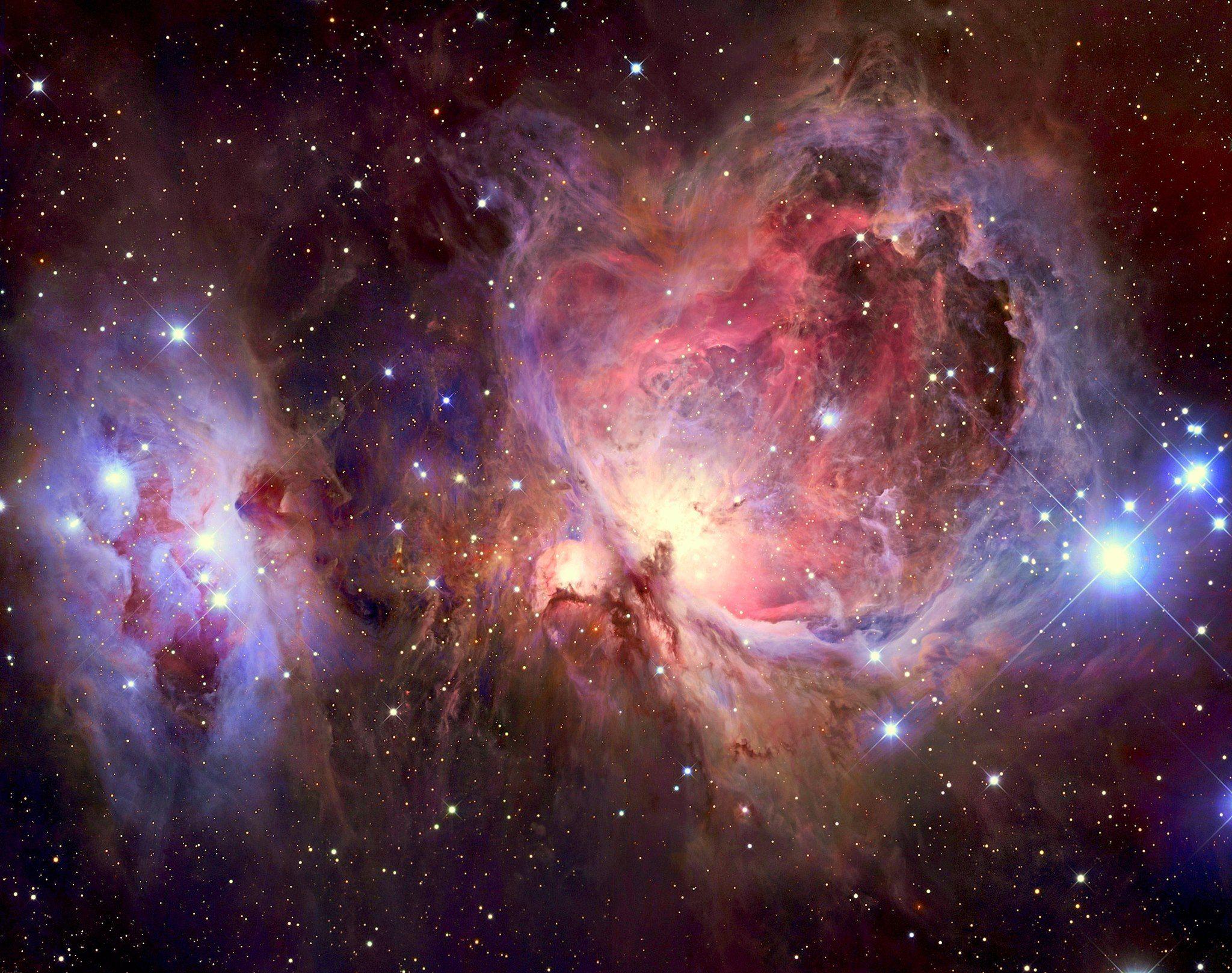Orion Nebula in visible light. & Orion Nebula in visible light. | Stardust | Pinterest | Orion nebula azcodes.com
