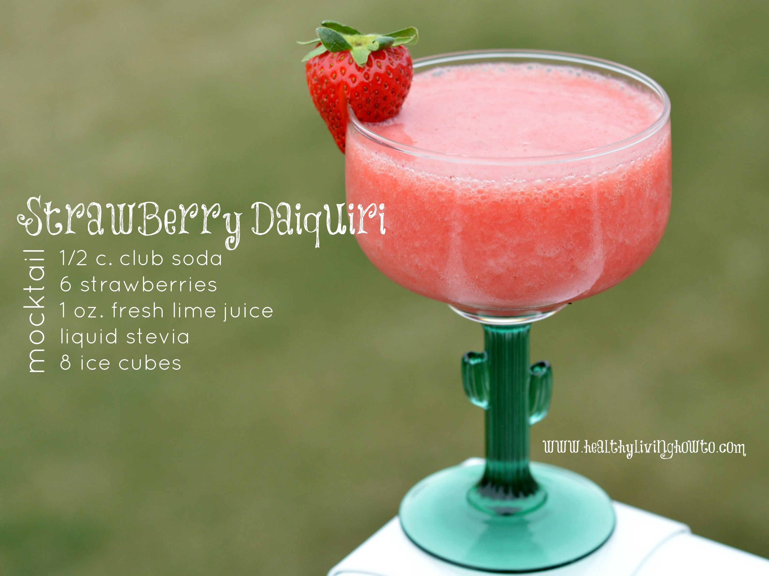 Strawberry Daiquiri Mocktail Recept Drank En Recepten