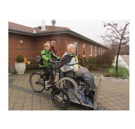 Nihola Flex Special Needs Wheelchair Tandem Tricycle | Bikes