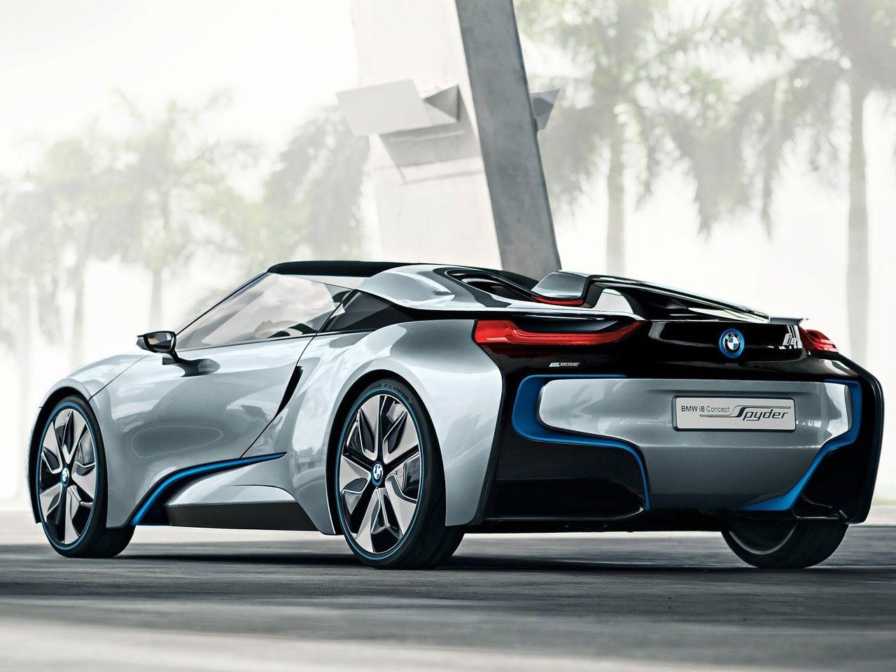 automotive-lust: bmw i8 spyder roadster concept | cars - bmw