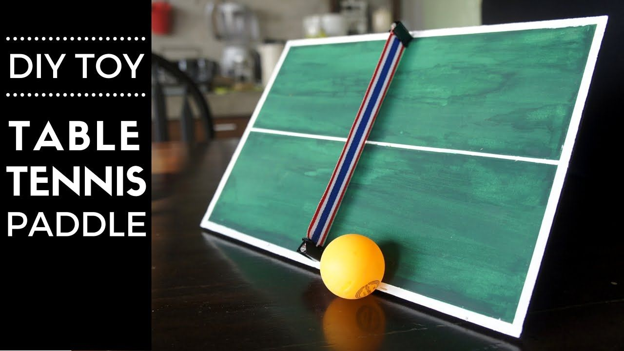 Diy Hand Held Table Tennis Toy Paddle Table tennis
