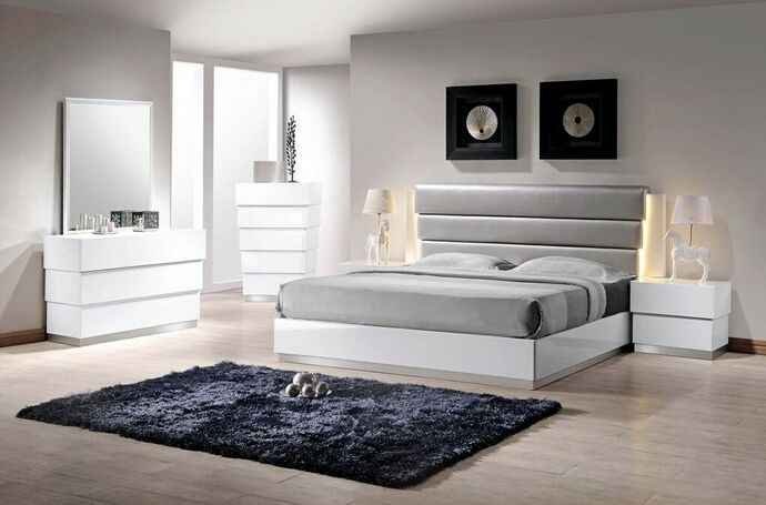Best Master Florence 5 pc florence collection modern style queen