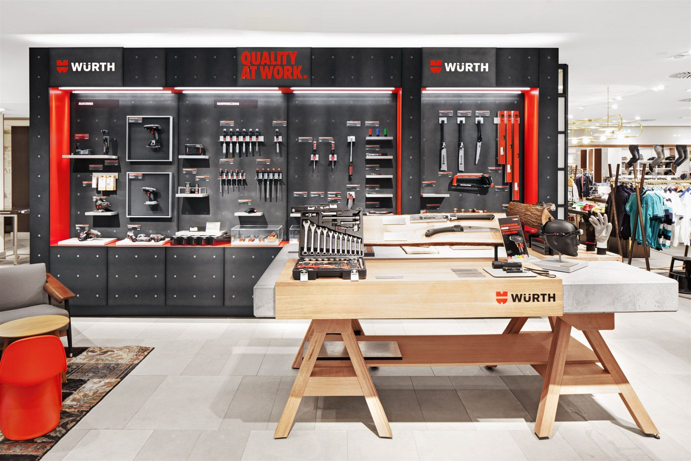 With the opening of the first temporary brand store at