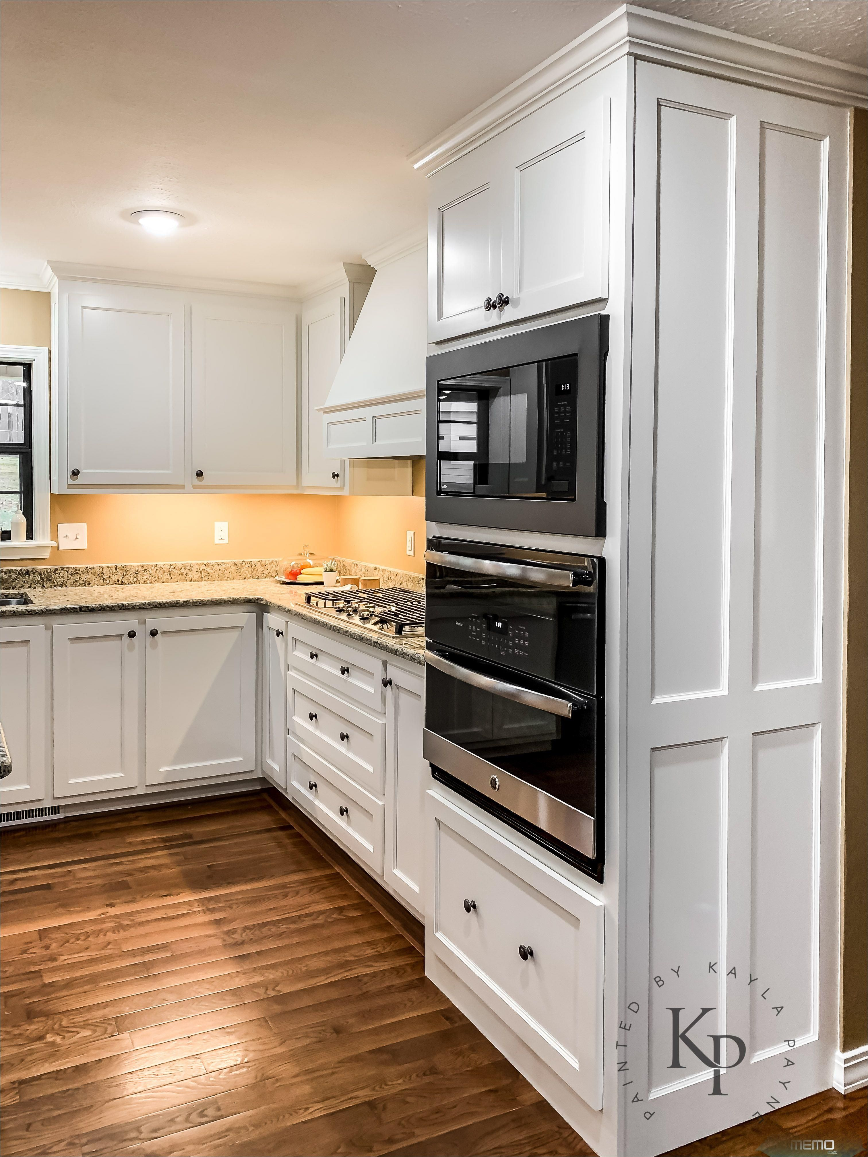 Mar 12 2019 Sherwin Williams Dover White On Kitchen Cabinets Is One Of The Best Cabinet Paint Colo In 2020 White Kitchen Layouts Kitchen Layout New Kitchen Cabinets