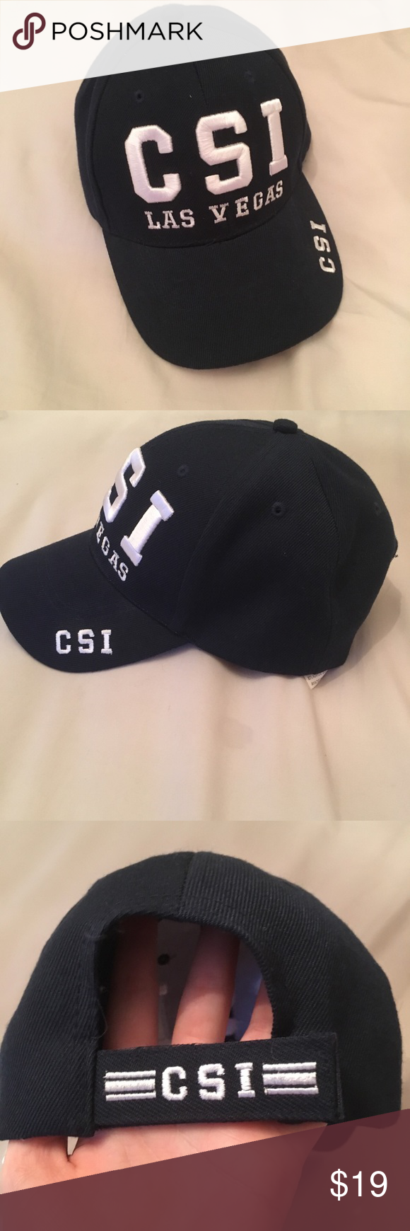07c9efa6ece42 CSI Dad Hat CSI Las Vegas dad hat. this is so sick! very good