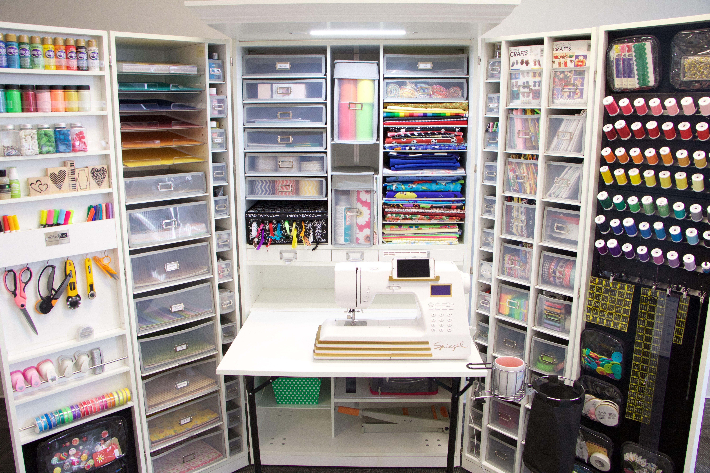 White Crafting Station