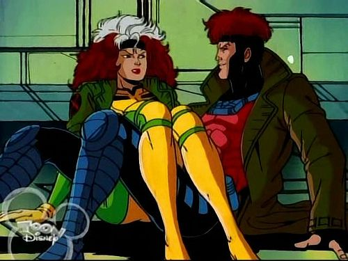 Rogue Gambit From The X Men 90 S Version Perfect Couple Cosplay 3 Marvel Rogue Rogue Gambit Comic Book Superheroes