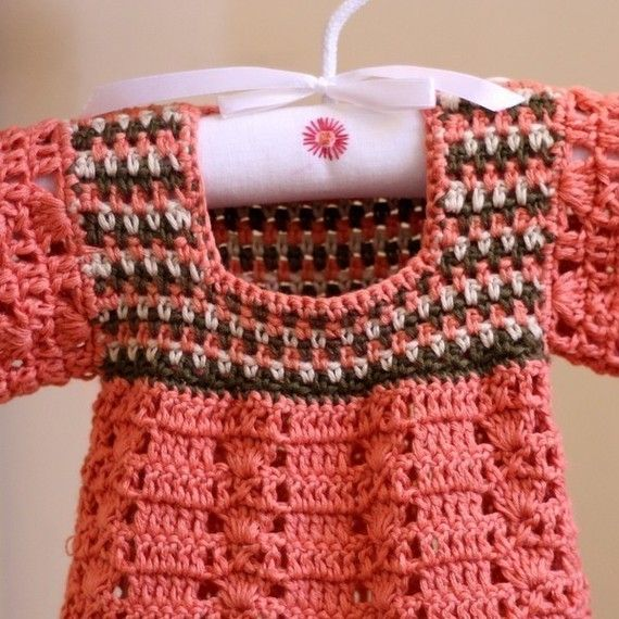 Crochet PATTERN - Multi-colored Top (baby and toddler sizes ...
