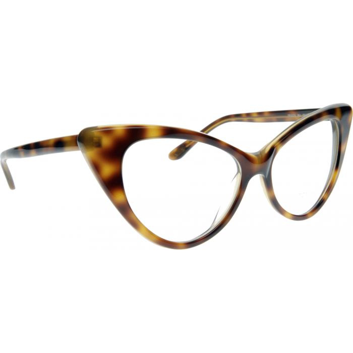 Tom Ford Glasses FT5224 Tortoise shell frame, cats eye style   MY ...