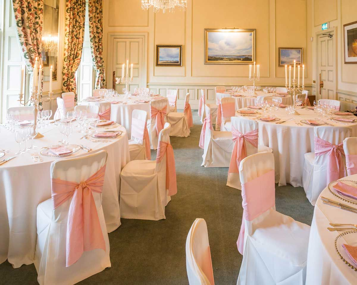 Photoshoot At Dundas Castle Damask Napkins Chair Cover Chair Covers