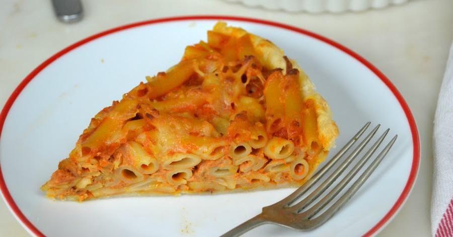 Quiche De Macarrones Para Darse Un Super Capricho Recetas De Pastas Recetas De Comida Recetas Fáciles