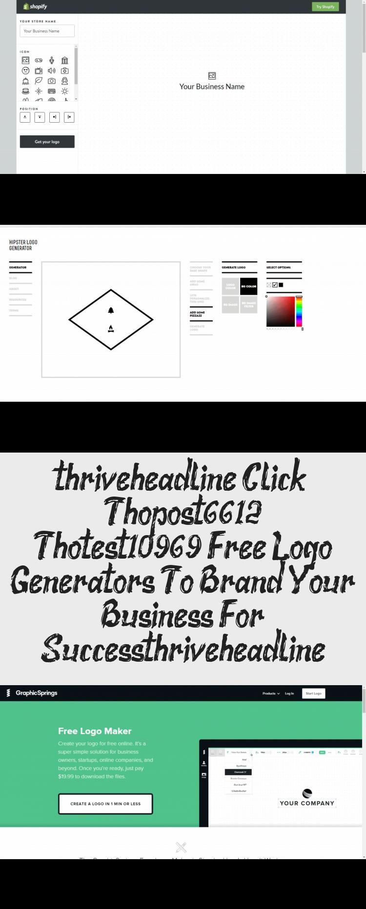 9 Free Logo Generators To Brand Your Business For Success