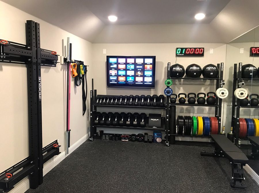 Rogue Fitness On Instagram Home Gym Courtesy Of Johnnyquinnusa Start Your Own Home Gym Link In Bio Ryourogue In 2021