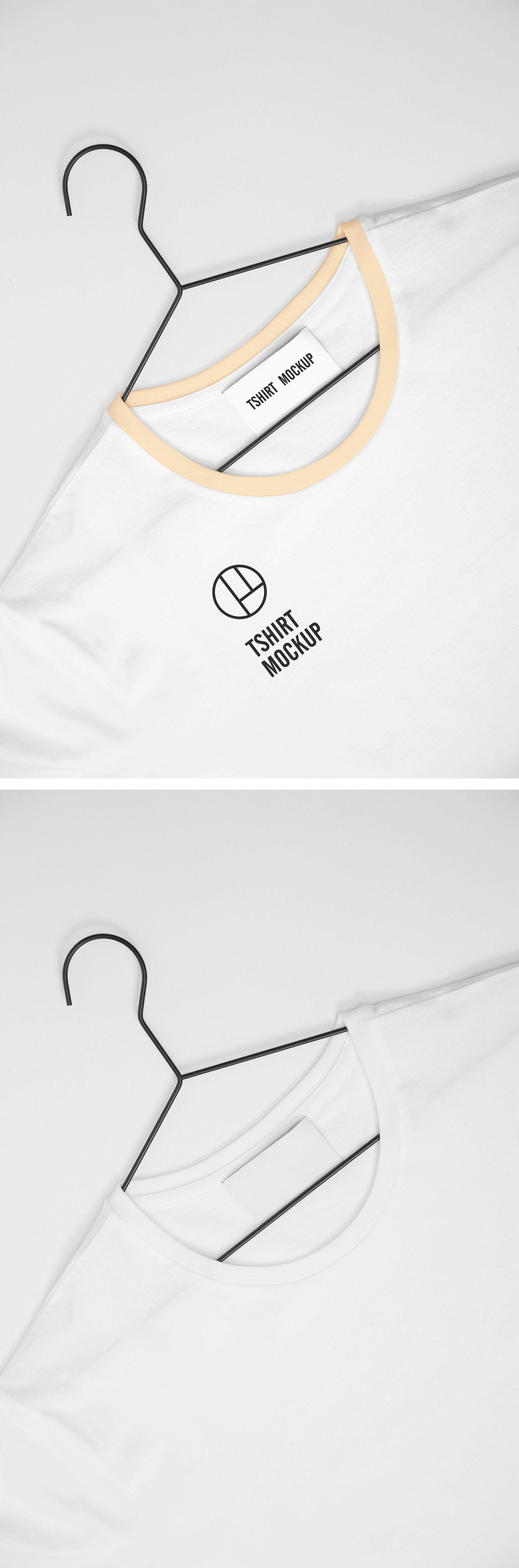 Download White T Shirt Mockup Shirt Mockup Tshirt Mockup Graphic Design Freebies